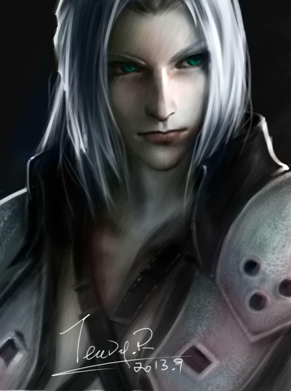 Sephiroth Final Fantasy Final Fantasy Final Fantasy Vii