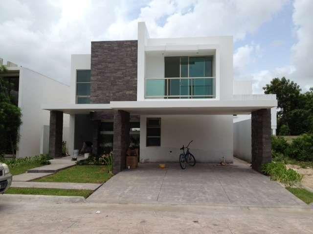 Casa en venta en cancun cumbres fachada pinterest house for Casas en renta en cancun