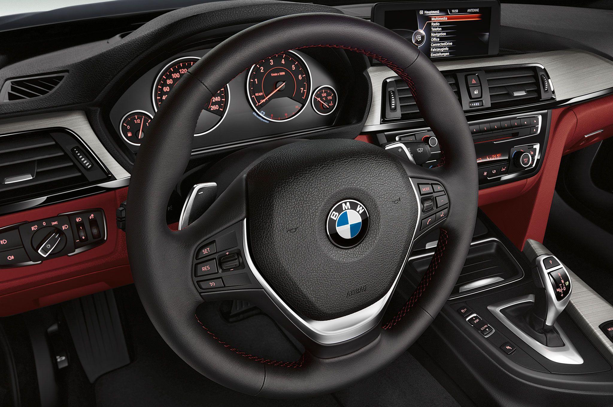 2014 bmw 4 series steering wheel