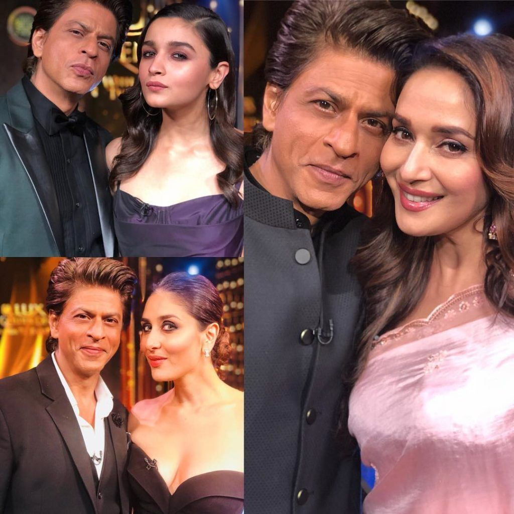 Bollywood Actor Shah Rukh Khan With Alia Bhat Madhuri Dixit And Kareena Kapoor In 2020 Bollywood Actors Richest Actors Bollywood Celebrity News