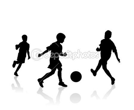 Soccer Players Silhouette Soccer Players Soccer Boys Soccer
