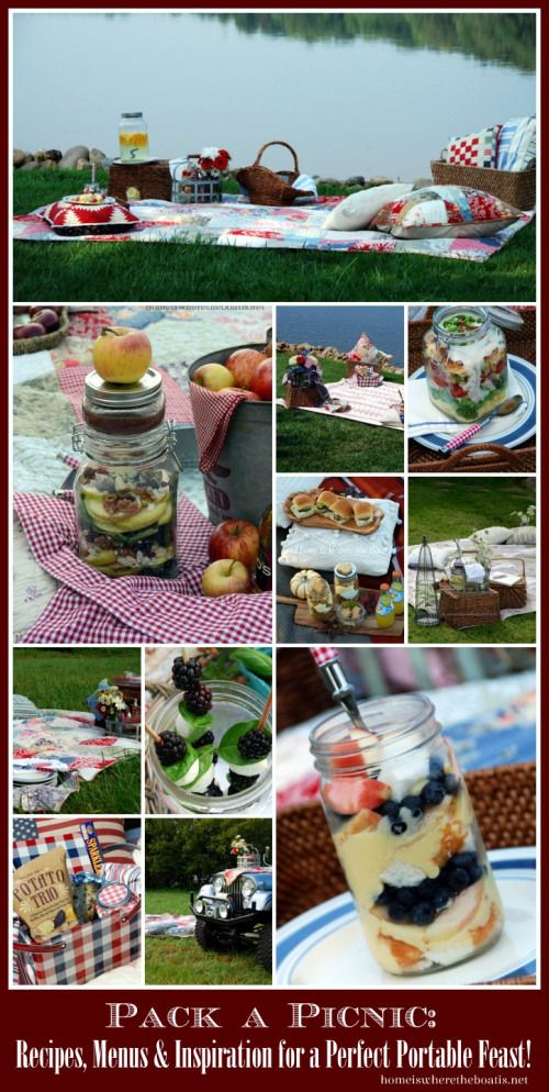 Pack a Picnic, Recipes, Menus and Inspiration for the Perfect Portable Feast!