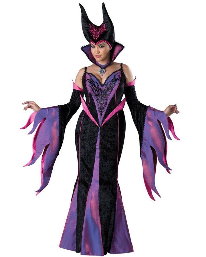 Elite Dark Sorceress Womens Plus Size Costume Cosplay Ideas