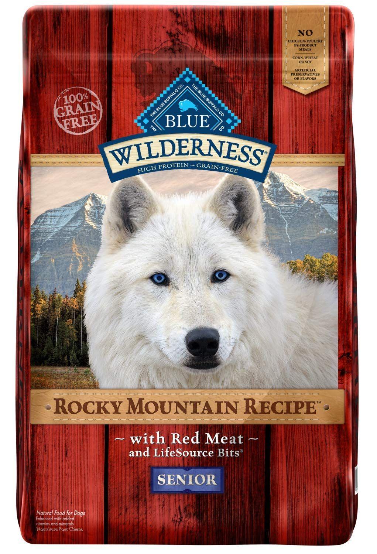 Blue Buffalo Wilderness Rocky Mountain Recipe High Protein Grain
