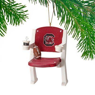 South Carolina Gamecocks Stadium Chair Ornament (backorder)
