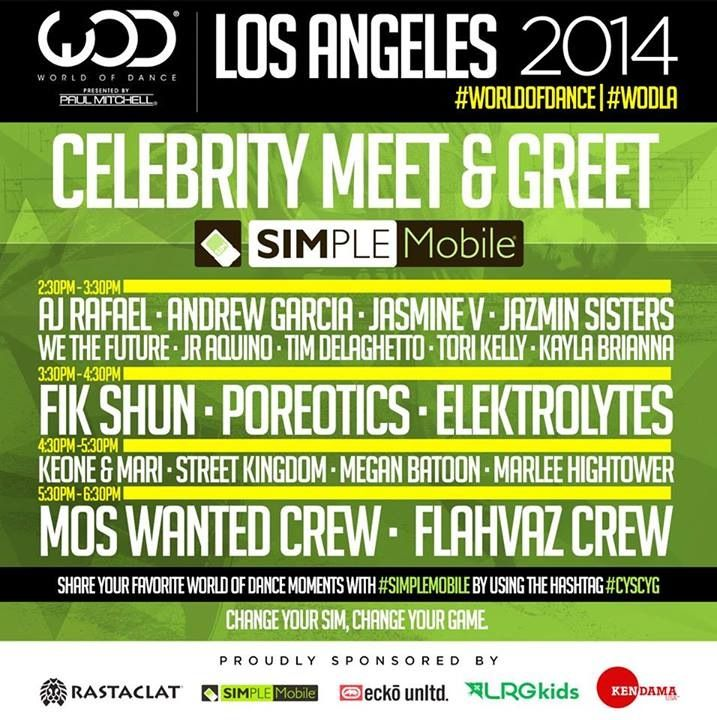 World of dance los angeles celebrity meet and greet schedule is out world of dance los angeles celebrity meet and greet schedule is out spread the word m4hsunfo