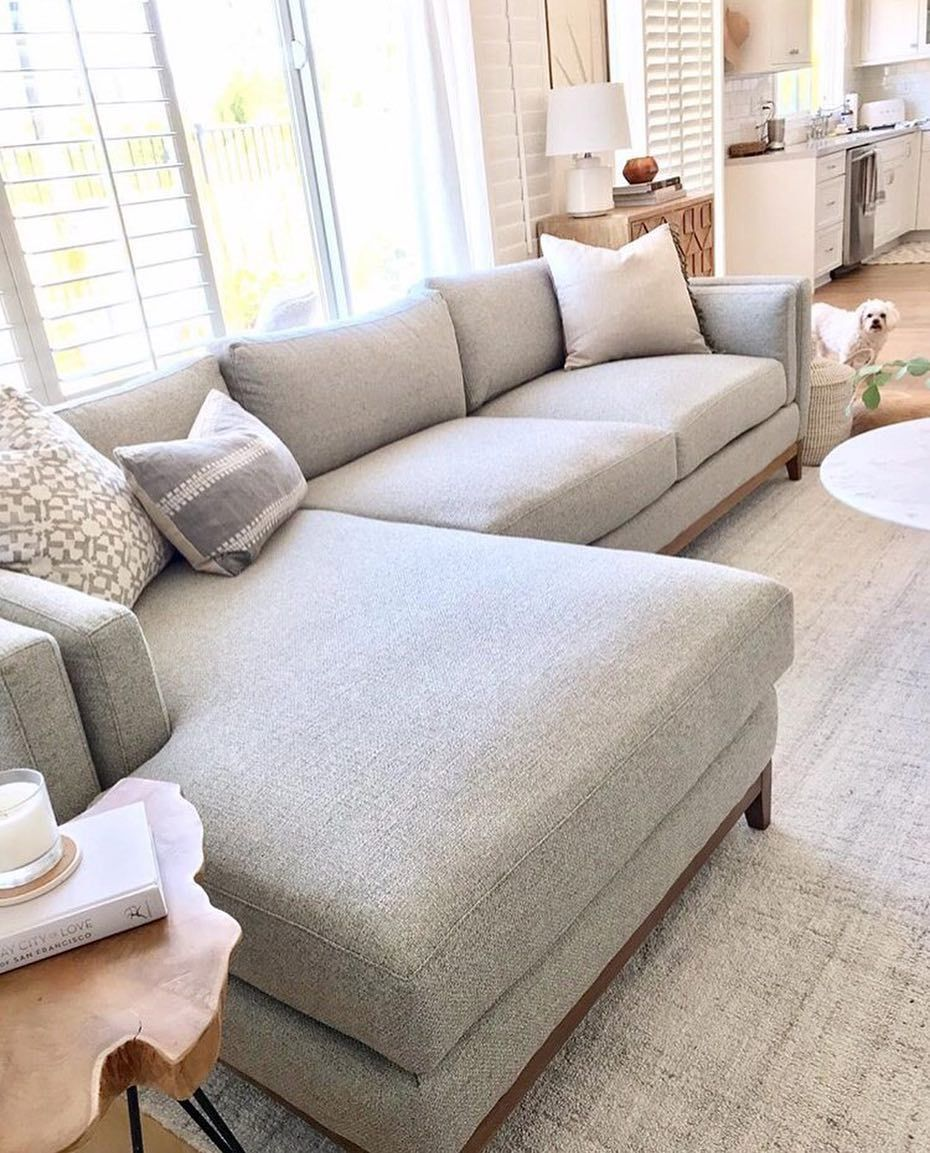 Swell The Kelsey Sectional Is Lounge Ready With Its Chaise Feature Andrewgaddart Wooden Chair Designs For Living Room Andrewgaddartcom