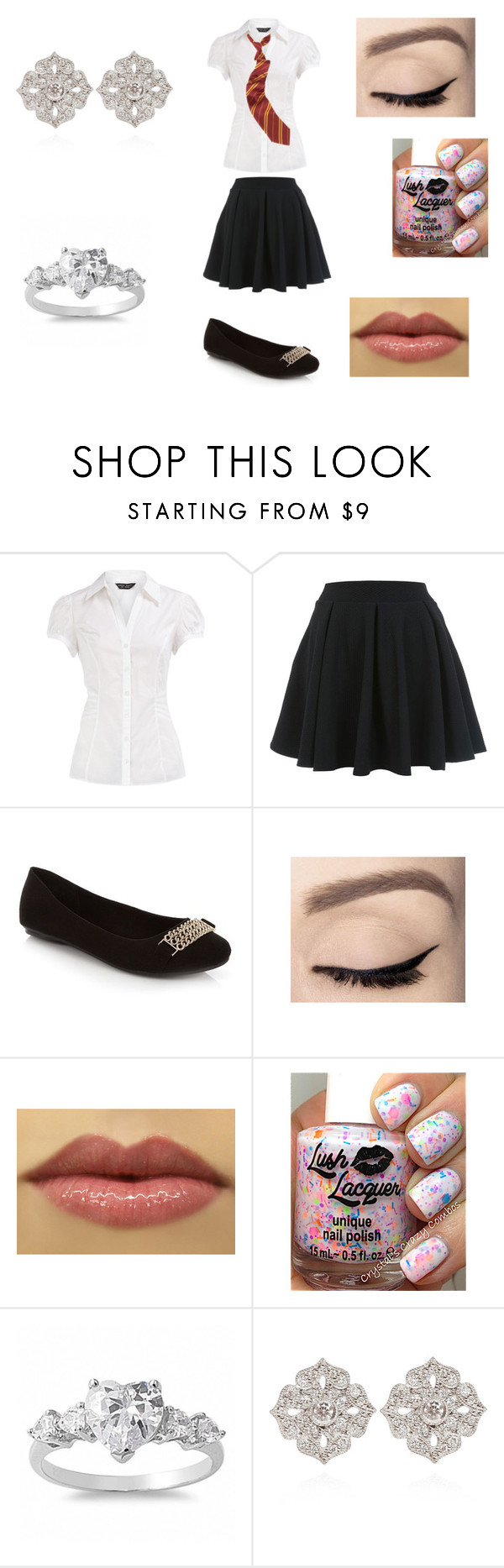 """back to hogwarts 2"" by georgia-354 ❤ liked on Polyvore featuring Dorothy Perkins, Miss Selfridge, Fantasy Jewelry Box and STONE"