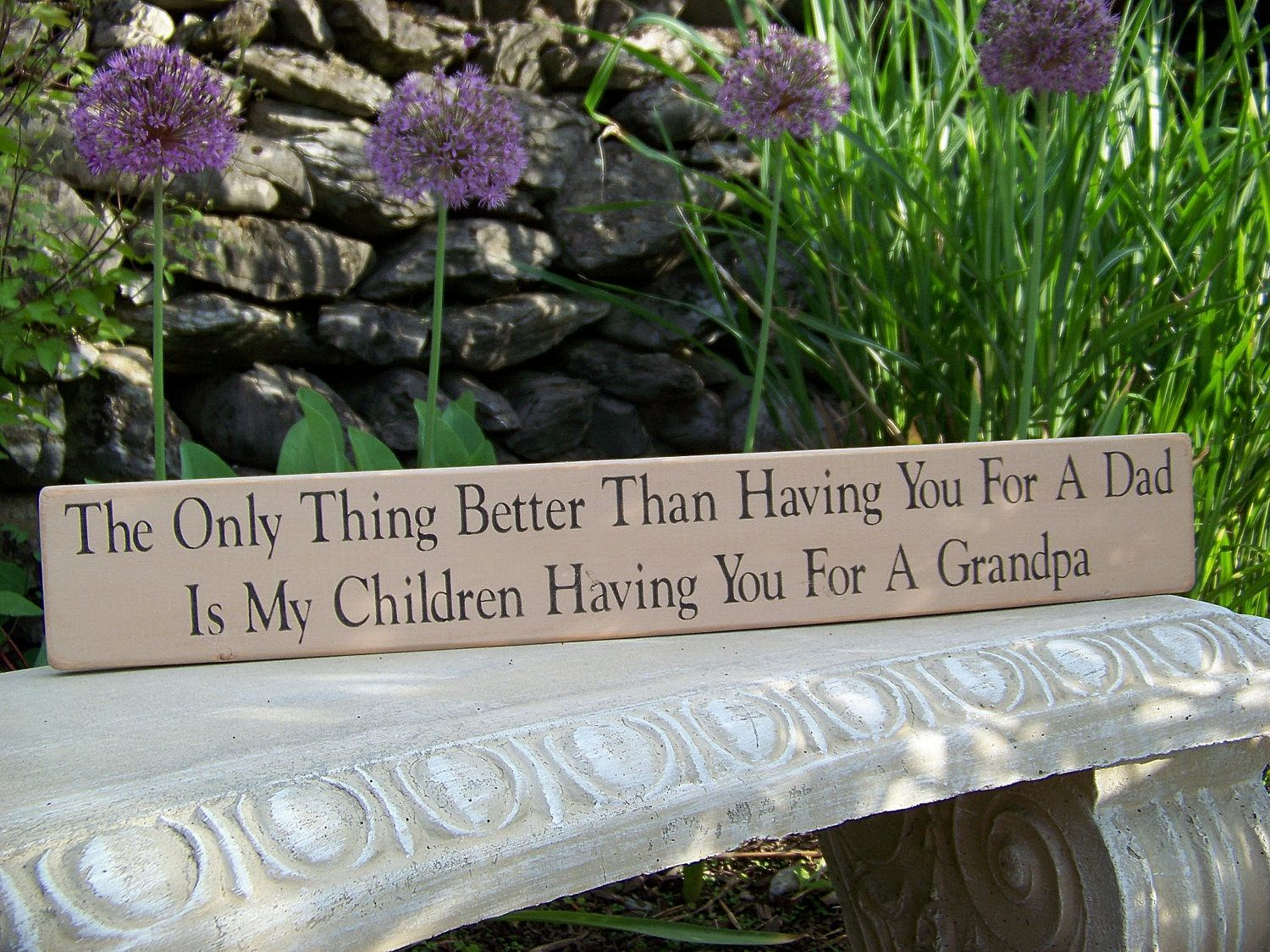 This has my Daddy written all over it!! Beautiful and Perfect!