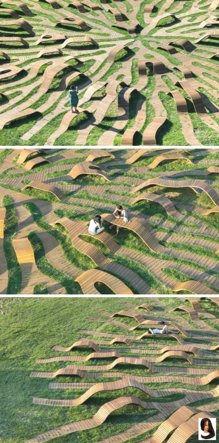 Photo of Yong Ju Lee Architecture Have Created The 'Root Bench' In Seoul – Dress Models