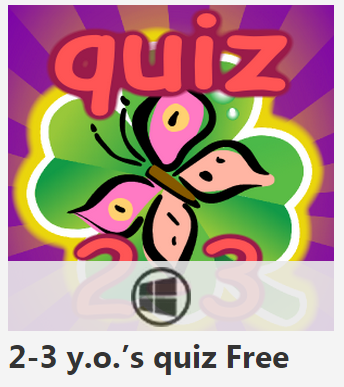Handy to have for curious toddlers to play. 2-3 y.o.'s quiz Free keeps them engaged w/ this fun learning app! bit.ly/1tFOQRa