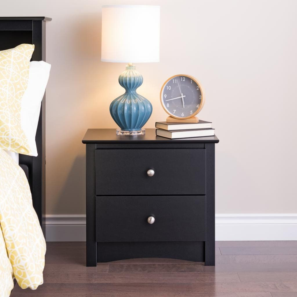 Best Sonoma 2 Drawer Nightstand Multiple Options Available 400 x 300
