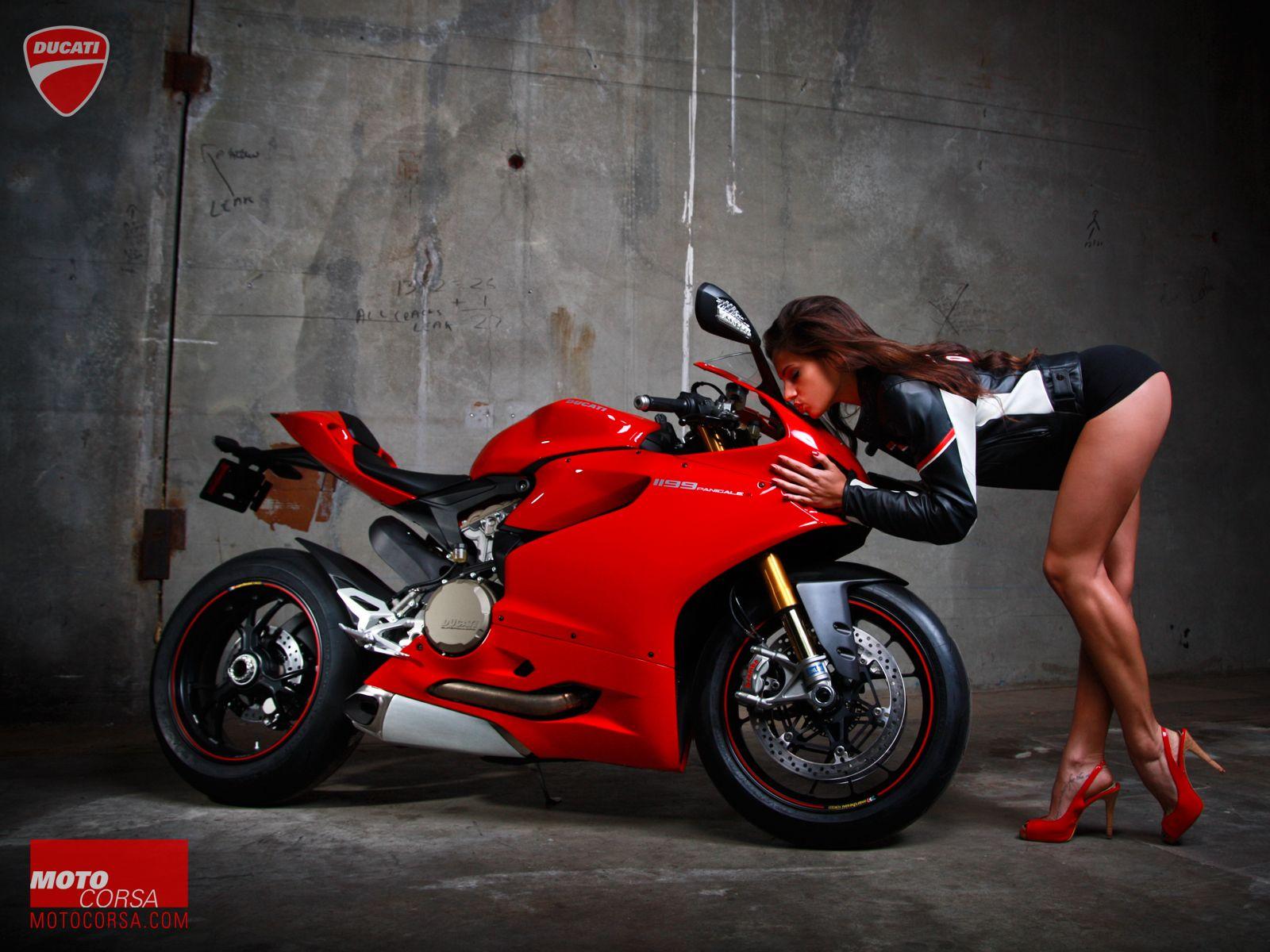 Motorcycle Girl 056 Seducative Redux Ducati Motorcycle Sport
