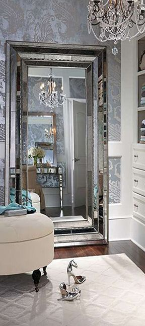 The Elegant Duchamps Storage Mirror Designed For Organizing And Storing  Your Favorite Treasures Inside | Cynthia Reccord
