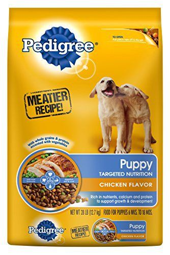Pedigree Puppy Targeted Nutrition Chicken Flavor Dry Food For