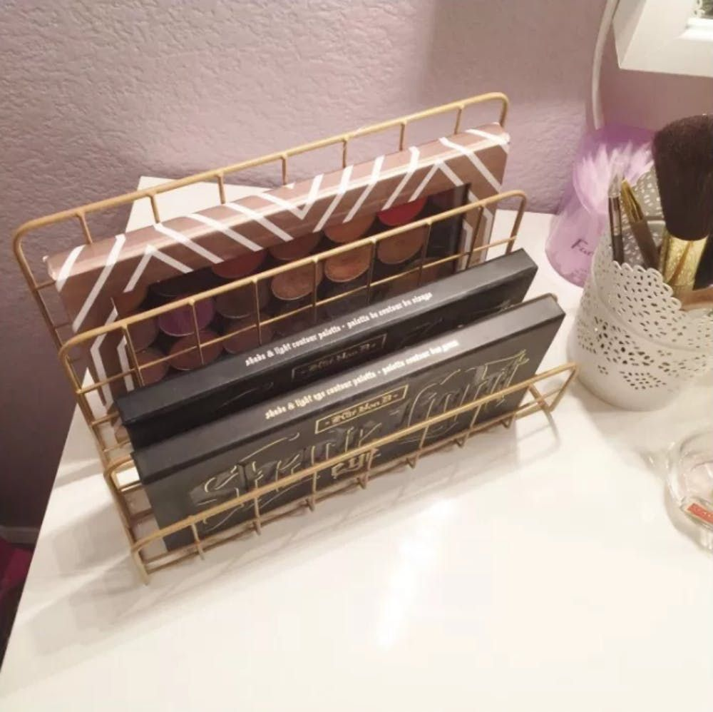 Makeup Organizers Target Unique 12 Ways To Organize With Office Supplies  Organizing Organizations Decorating Design