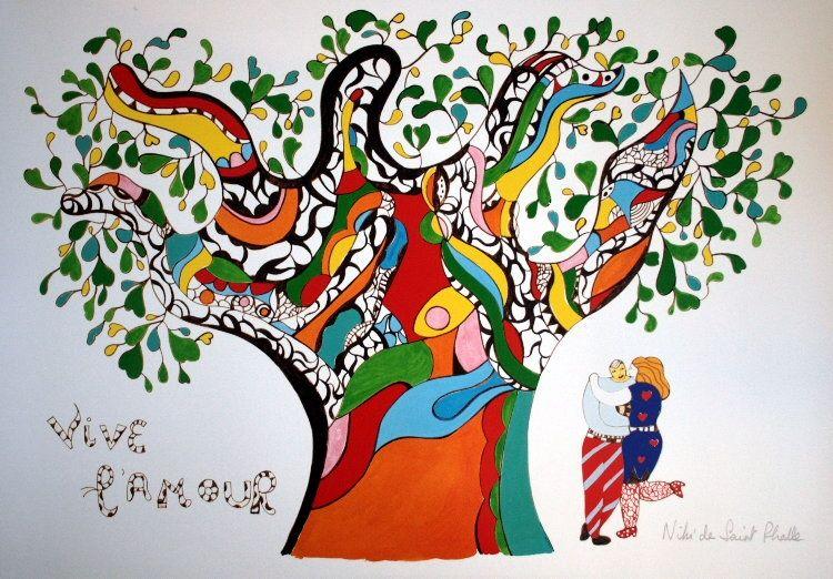 Vive L'Amour, Niki de Saint-Phalle
