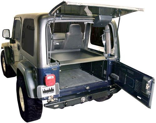 Tuffy 240 01 Security Deck Enclosure For 87 06 Jeep Wrangler Yj Tj Unlimited Deck Enclosures Jeep Tj Jeep Parts