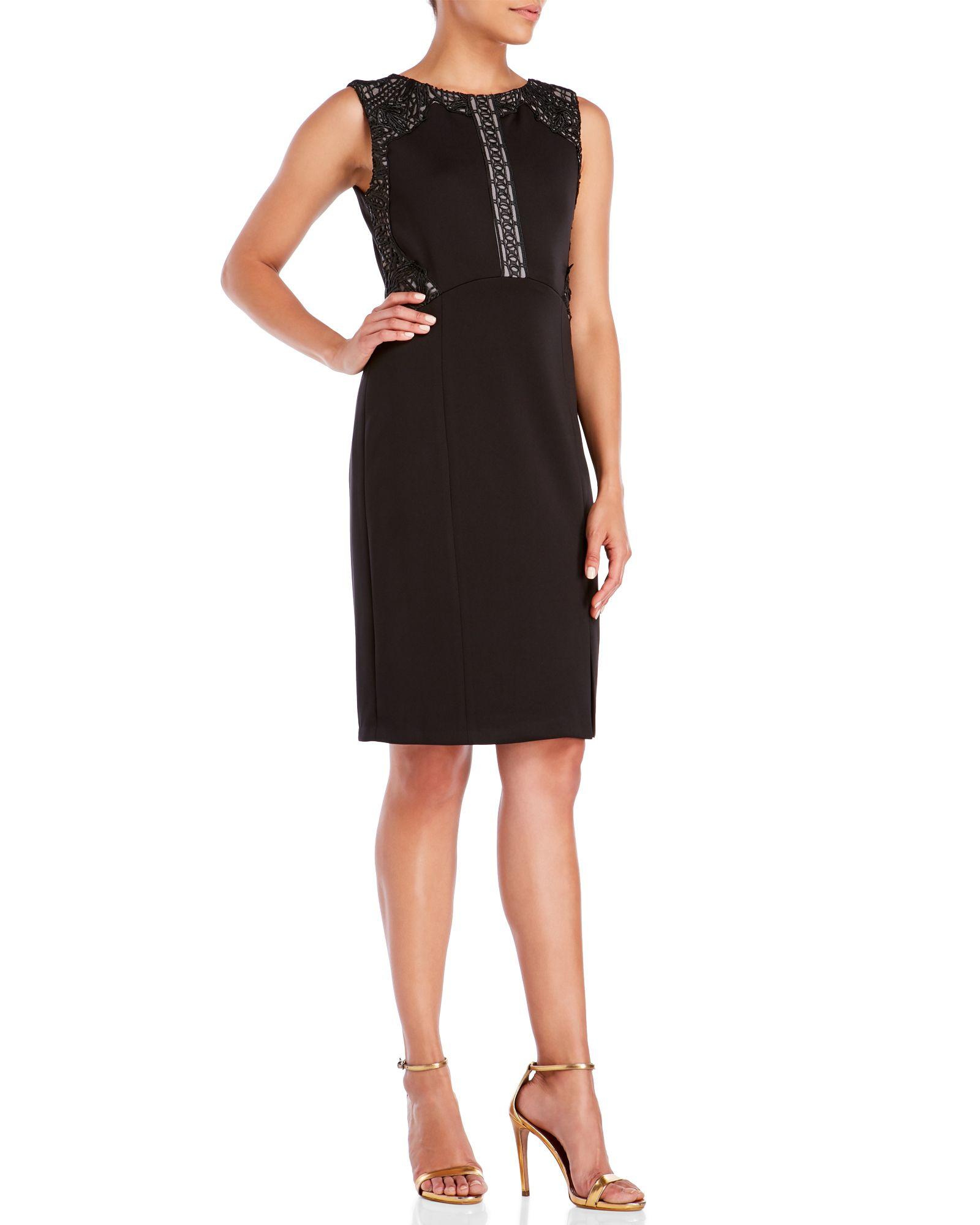 Black Sheath Dress Accessories | www.galleryhip.com - The ...