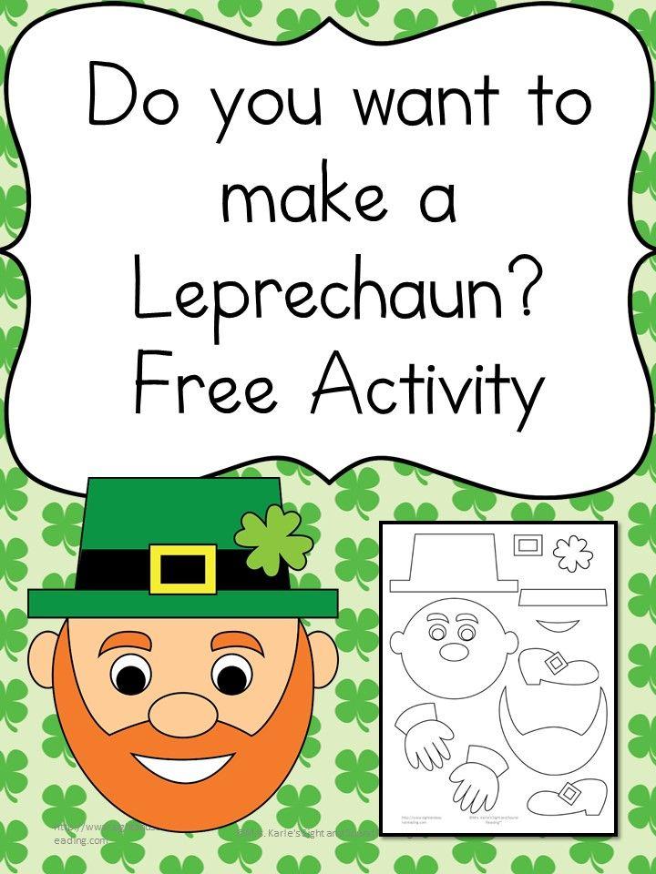 Do you want to make a leprechaun? Cute and fun Activity