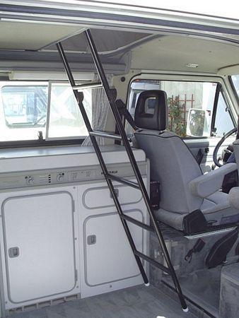 Upper Bunk Ladder Vanagon Eurovan Gowesty Camper Products Parts Supplier For Vw Vanagon
