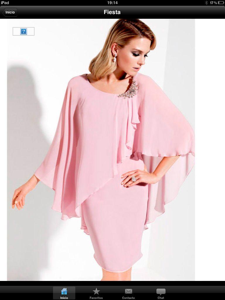 Vestido rosa | Vestidos | Pinterest | Vestido rosado, Pintas y ...