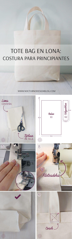 Proyecto de costura. Costura fácil. | costura~•°•~~ | Pinterest ...
