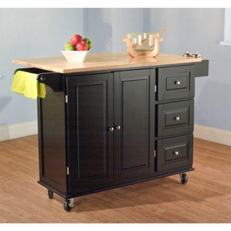 Sundance Kitchen Cart Multiple Colors Walmart Com Kitchen Cart Kitchen Island With Seating Kitchen Island Cart