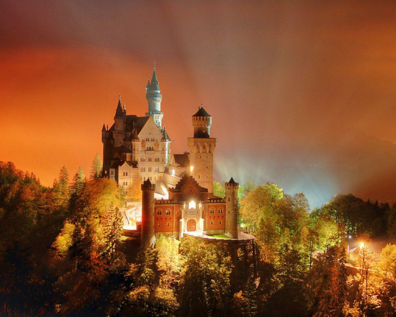 Neauchwanstein Winter Facebook Covers Free Download