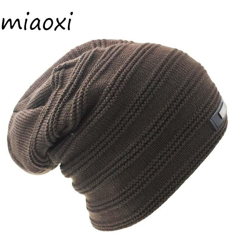 Miaoxi New Style Knitting Winter Warm Men Fashion Hat Unix