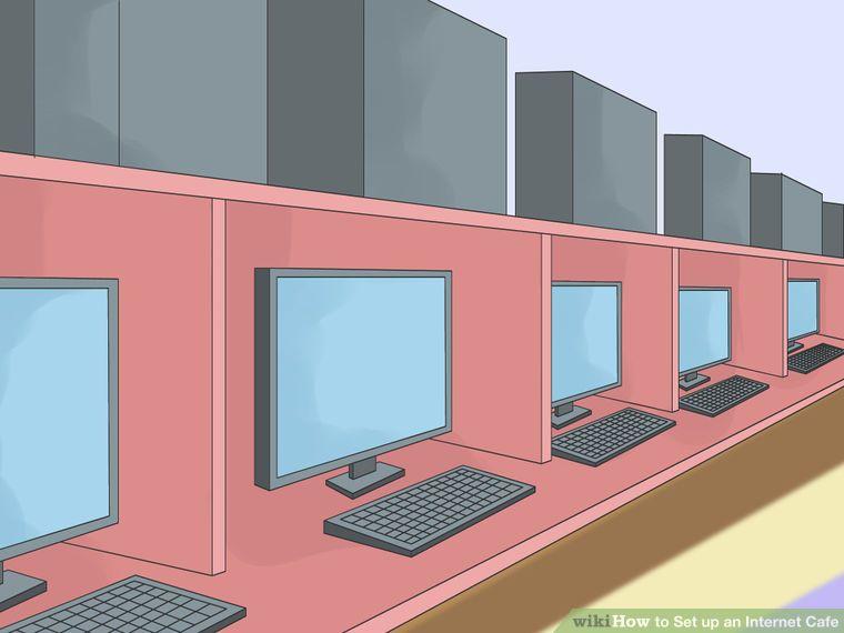 Set Up An Internet Cafe Ciber Cafe Ciber Proyectos