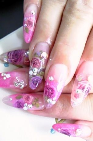 Glamorous Nail Art Designs Give Your Nails A Glam Over With Some