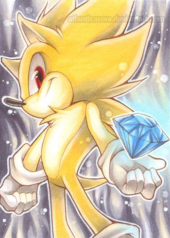 Super Sonic By Atlanticasora On Deviantart Sonic The Hedgehog Sonic Sonic El Erizo