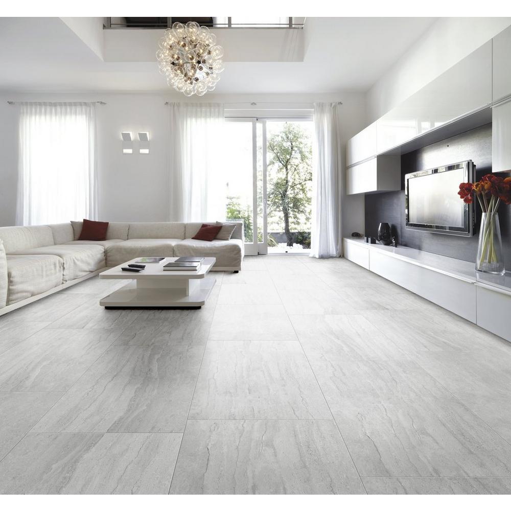 I Travertini Grigo Porcelain Tile Floor & Decor in 2020