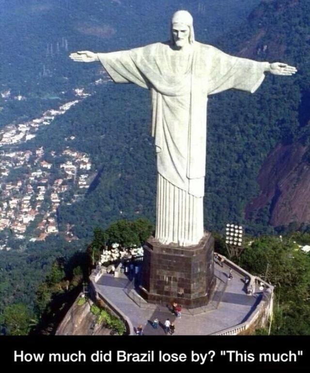 Brazil's soccer game meme lol hilarious but wrong ⚽️