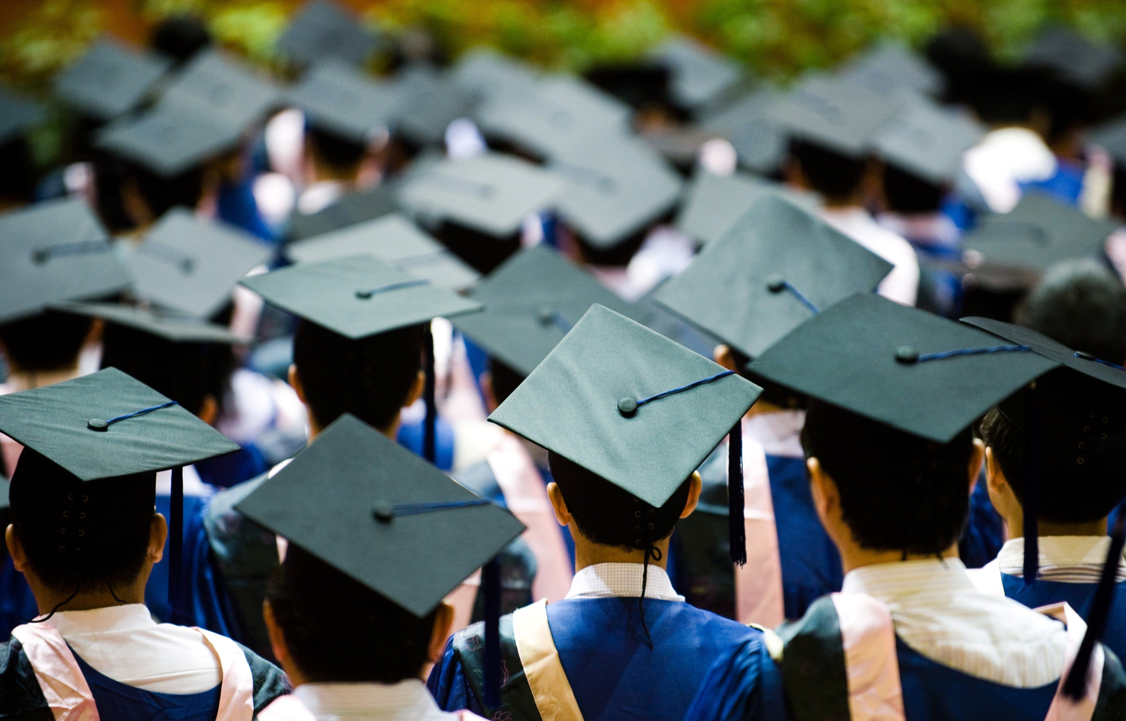 College Graduation Wallpaper