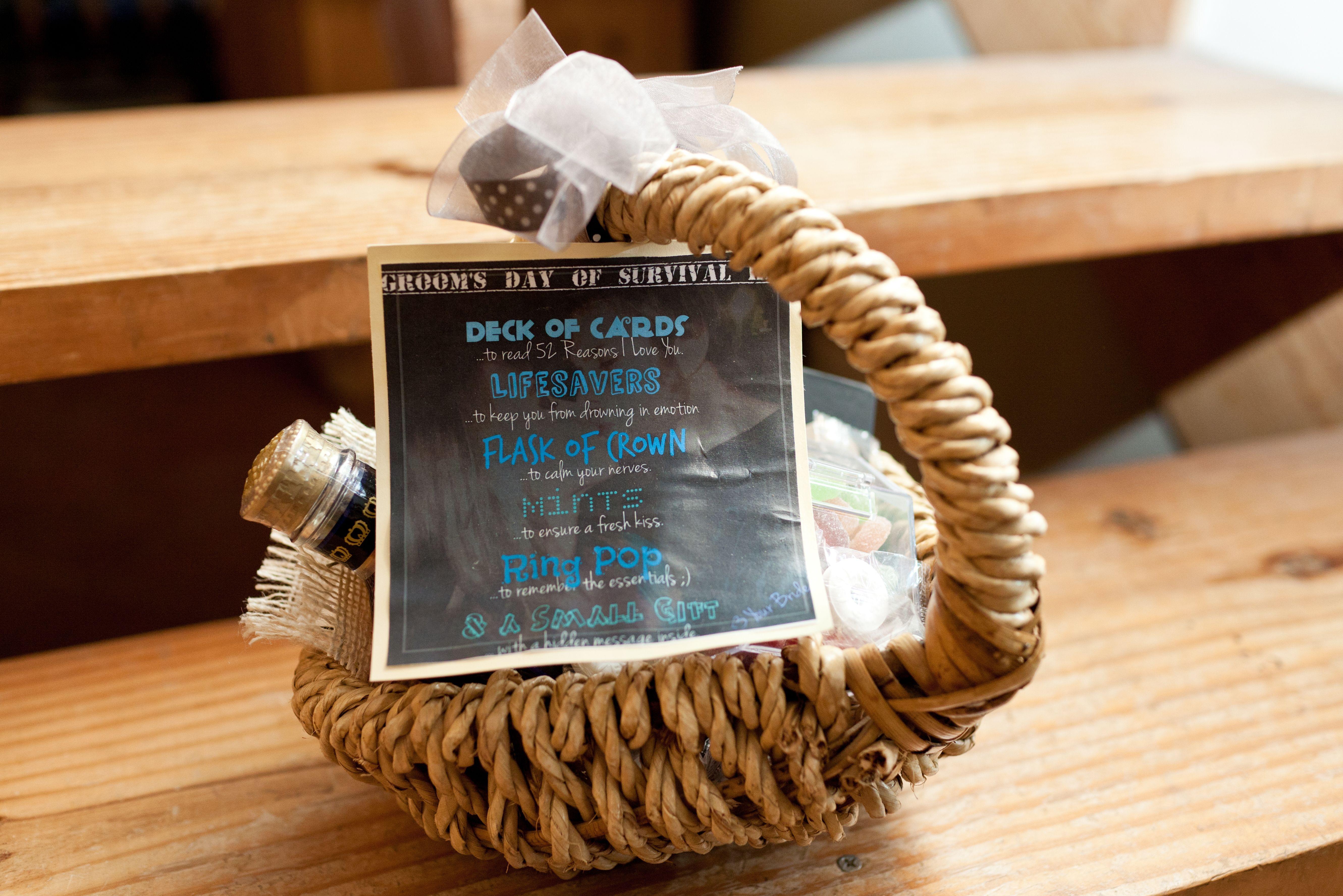 Groom gift groom gift my wedding dream wedding