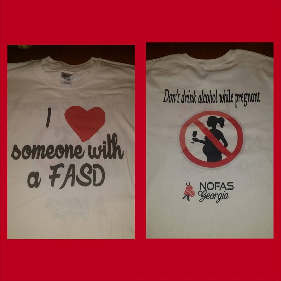 Nofas Georgia Fasd Awareness Tshirts