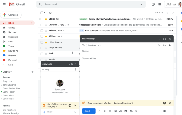 Gmail Can Now Tell Your Co Workers You Re On Vacation Before They