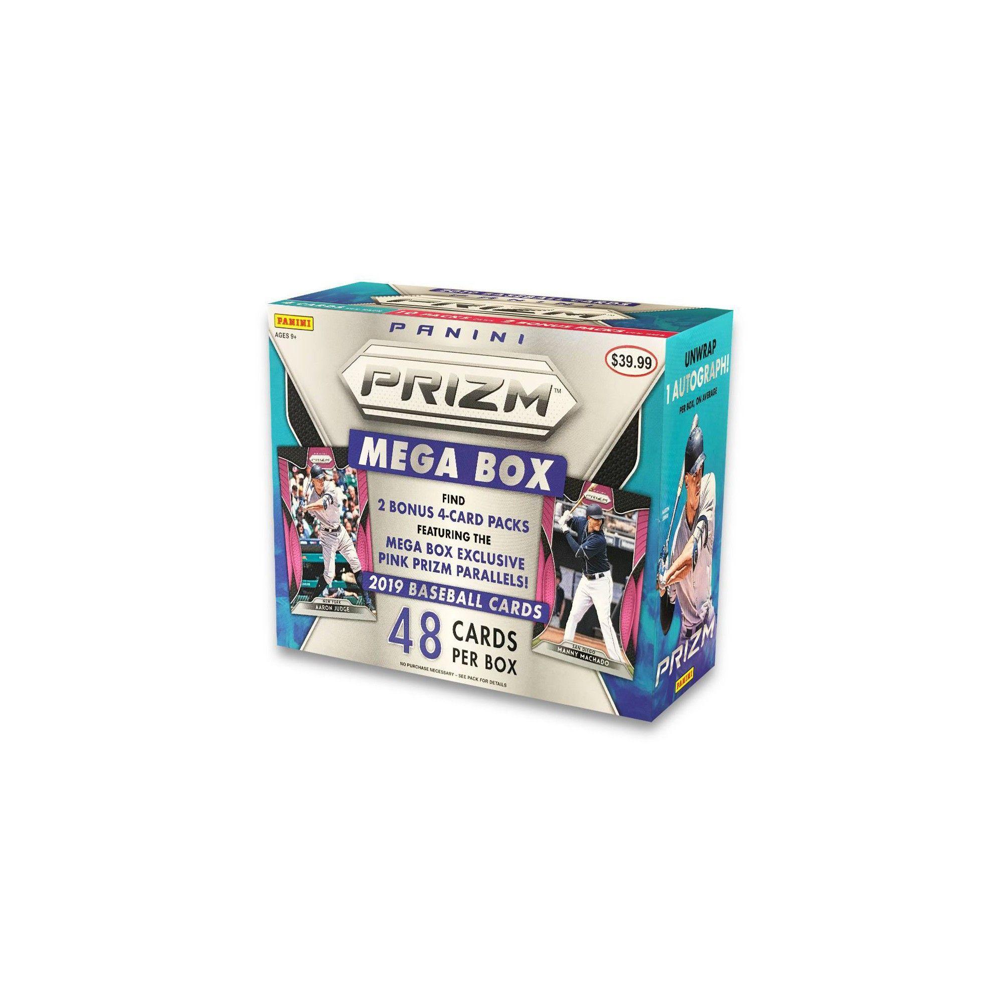 2019 Mlb Prizm Baseball Trading Card Mega Box In 2019 Products
