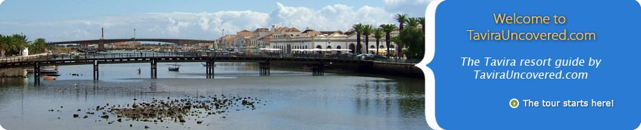 Portugal - Tavira: one of Algarve's oldest and most beautiful towns