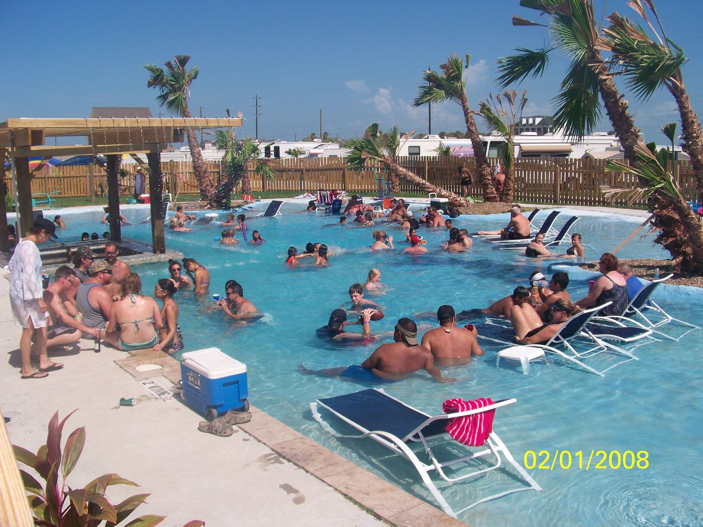 Rates At The Jamaica Beach Rv Resort In Galveston Jamaica Beaches Galveston Texas Beaches