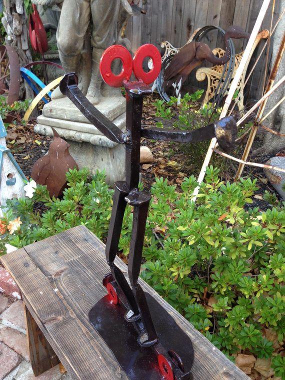 Garden Art Railroad Spike
