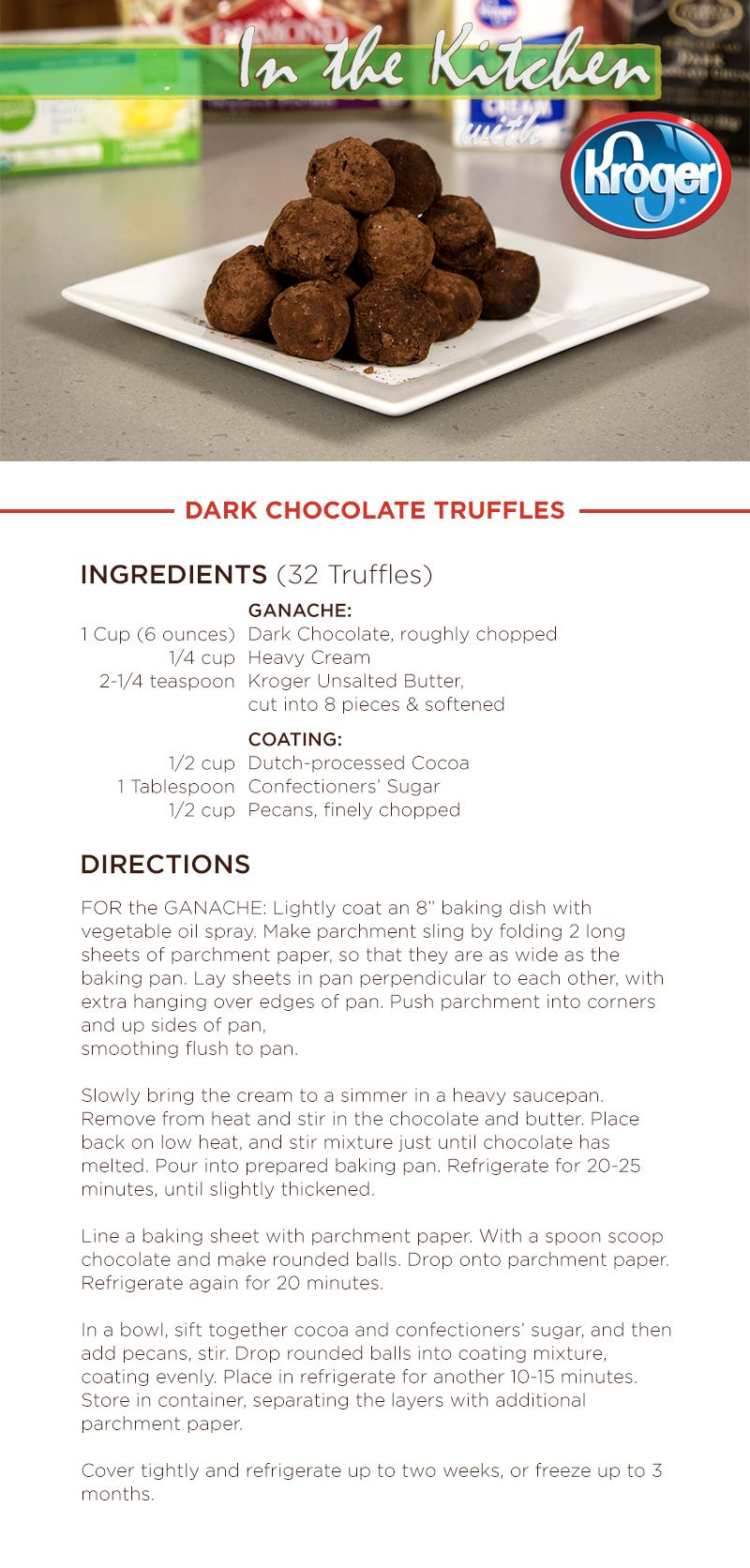 Learn how to make Dark Chocolate Truffles on this week\'s In the ...