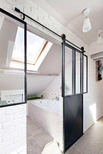 Van badkamer naar slaapkamer | Praxis Blog | zolder inkom | Pinterest