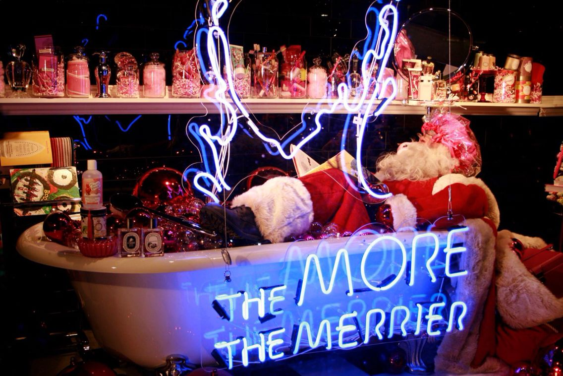 'The more the merrier' Neon