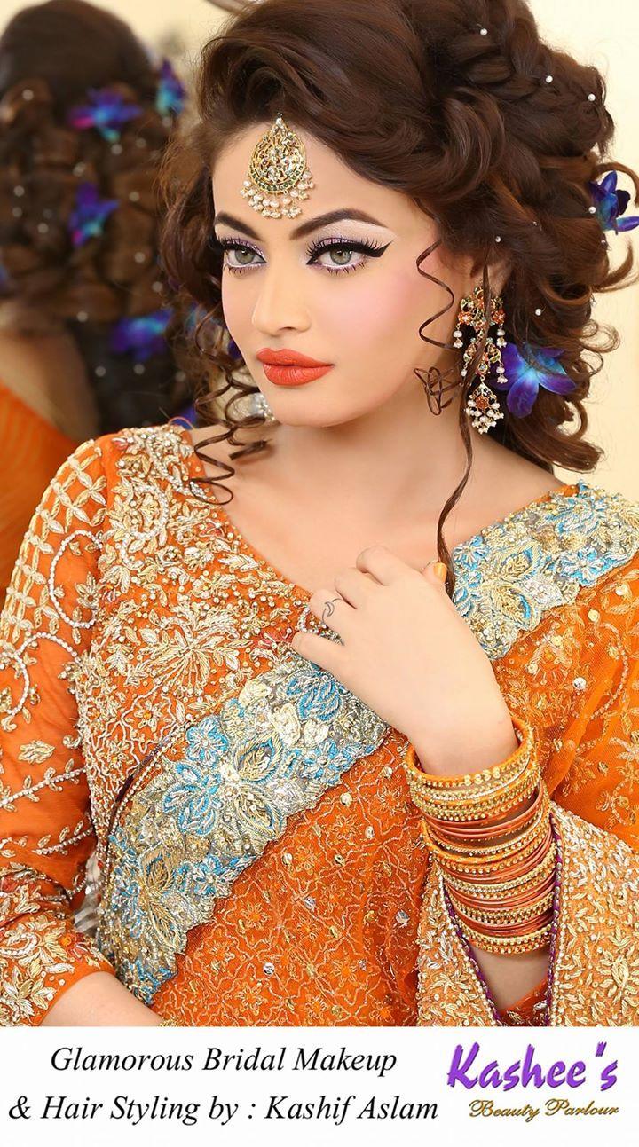 Kashee S Beauty Parlour Bridal Make Up Bridal Hair Buns Pakistani Bridal Makeup Bridal Makeup Looks