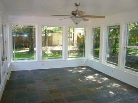 Love All The Windows Great For Family Room Off Back Of House Porch Remodel Enclosed Patio