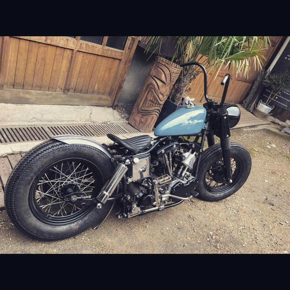 Pin By Yukon Kasama On Bike Harley Bobber Harley Shovelhead Bobber Bikes [ 960 x 960 Pixel ]