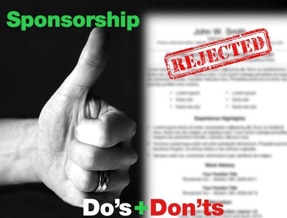 Sponsorship Do S And Dont S Bmx Talk Sponsorship Sponsorship Proposal Racing News